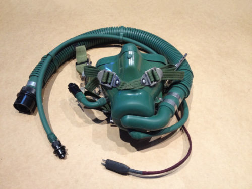 Military Surplus China Air Force Fighter Pilot YM 9915 Oxygen Mask World military Store