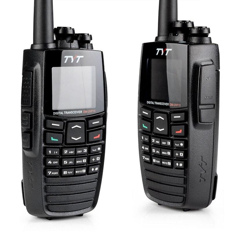 TYT DM-UVF10 Digital Two Way Radio 256CH GPS Walkie Talkie DPMR Ham Transceiver