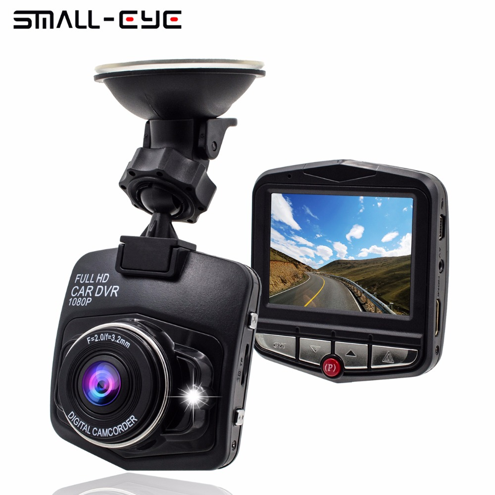 SMALL-EYE Car Dvr Recorder with HD Wide Angle, Loop Recording, the Dash camera with Night Vision Flash Memory Card and G-Sensor