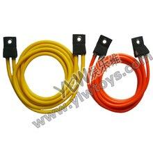 2 м Высокое качество латекс банджи шнур, Professional фитнес резиновая трубка эластичные кабели/Спорт принадлежности для прыжков на батуте