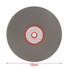 6 Inch Professsional Polishing Disc Pads Diamond Grinding Wheel Grinder Angle Grinder Rotary Tool for Grinding Stone Glass 115mmx19mmx100mm cylindrical polishing wheel grinder tool black