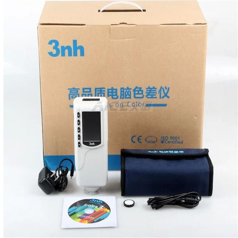 NR110 Portable Precision Colorimeter Color Tester 4mm Diameter Measuring Aperture  цены