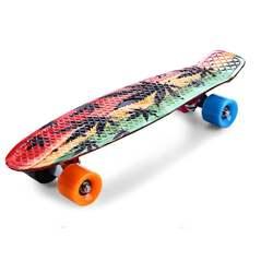 Деревянный скутер на четырех колесах колода скейтборд Экстремальные виды спорта популярный полный скейтборд Одиночная согревающая горка