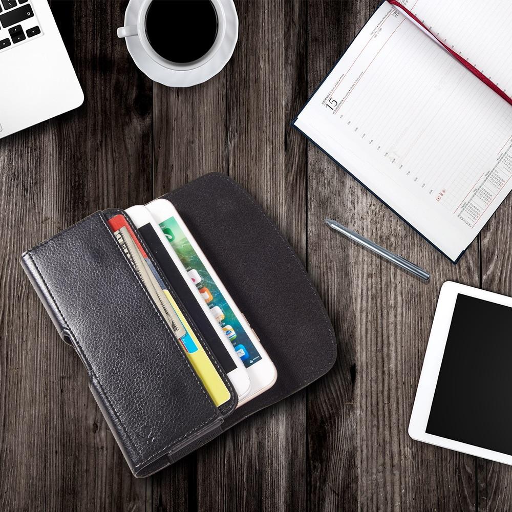 Luxmo 6.3 polegada Tampa Do Telefone sacos de Clipe de Cinto Coldre de Couro caso Bolsa de telefone Celular Universal Para Smartphone Limitado