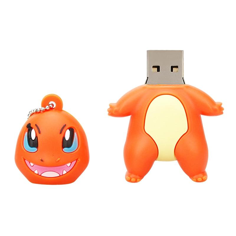 Image 4 - Classic USB Flash Drives 16GB 32GB 64GB Pokemon Pikachu Cartoon Pen Drive 4GB 8GB Pendrive 128GB Usb 2.0 Animal Memory Stick Hot-in USB Flash Drives from Computer & Office