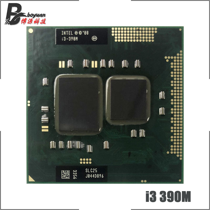Intel Core i3-370M 2.4Ghz 3MB Mobile Laptop Processor CPU SLBUK  TESTED