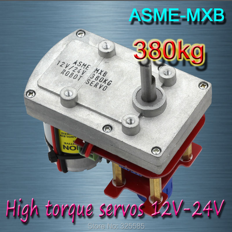 ASME -MXB High power high torque servo the 3600 Degree amazing high torque and high end servo fast powerfull waterproof ideally designed to use in r c cars