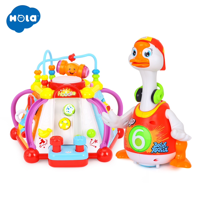 Baby Toys Electric Hip Pop Dance Goose & Kids Development Toys Multifunctional Game Toys For Children