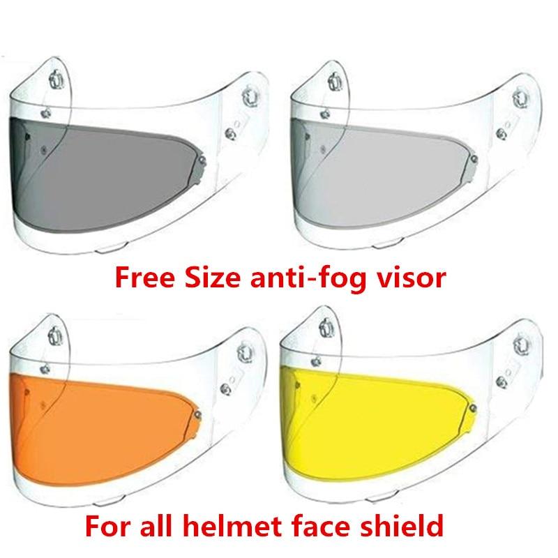 Universal LS2 anti-fog visier objektiv full face motorrad helm anti-fog-pinlock für agv k3 sv k5 HJC TORC BEON modulare helme