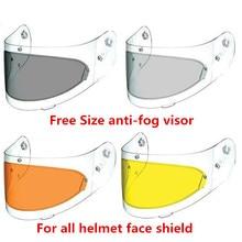 Universal LS2 anti-fog visor lens full face motorcycle helme