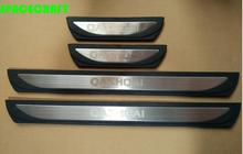 Door sill plate,scuff plate threshold for Nissan Qashqai 2014-2018 J11, car styling,auto accessories