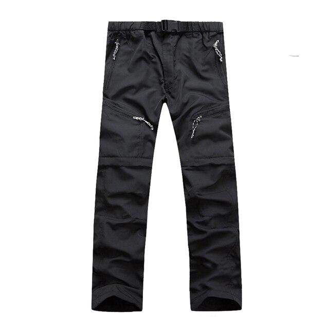 JACKSANQI Quick Dry Detachable Hiking Pants 6