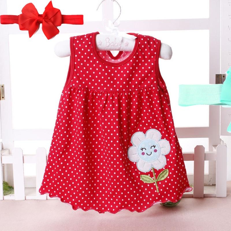 2018 nieuwe zomer schattige baby meisje 100% katoen pasgeboren baby - Babykleding