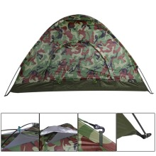 Outdoor Portable Single Layer Camping Hiking Tent  2 Person Waterproof Lightweight Camouflage Beach tourist Sunshelter Hunting цены