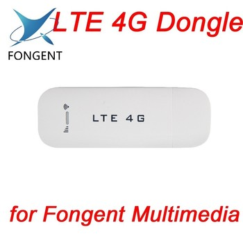 Fongent WCDMA 4G Dongle Wireless Network Card USB Modem Adapter for PC Tablet SIM Card EDGE Android System GPS