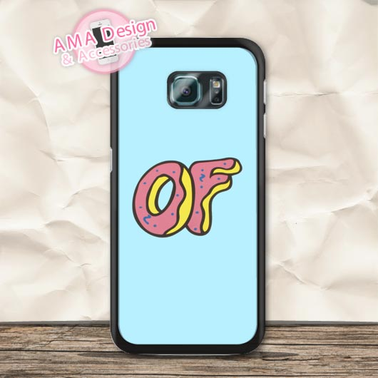 OF Donuts Golf Wang Odd Case For Galaxy S8 S7 S6 Edge Plus S5 mini S4 active Core Prime Win Ace Note 5 4
