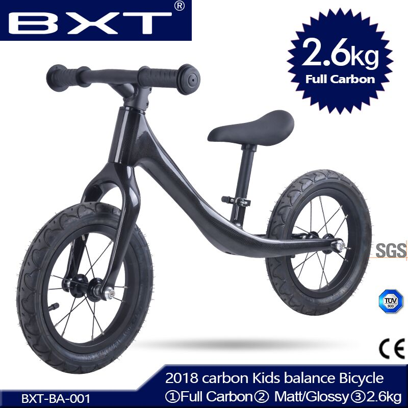 2018 BXT Pedal less Balance Bike carbon Kids balance Bicycle For 2 6 Years Old Children