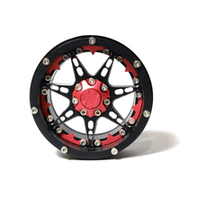 Aluminum Alloy 2.2 Inch Beadlock Wheels Rims for 1/10 RC Rock Crawler Axial SCX10 RR10 Wraith 90056 Traxxas TRX4