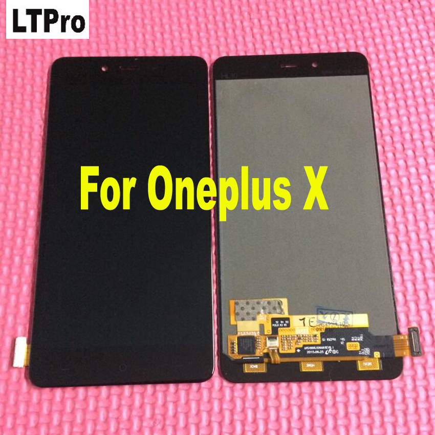 100% Guarantee E1001 LCD Display Touch Screen Digitizer Assembly For OnePlus X E1003 Phone Sensor Panel Parts