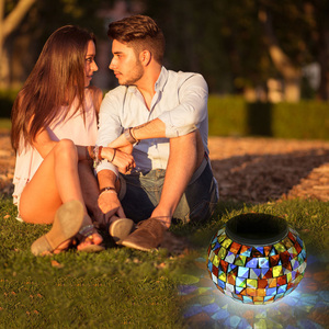 Image 5 - Color Changing Solar Powered Glass Ball Garden Light Outdoor Decorative Table Lights Camping Equipment Multi Tool Outdoor Tools