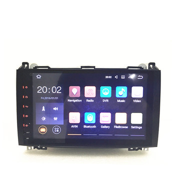 Android car radio 9Inch For Mercedes/Benz/ Sprinter B200 B-class W245 B170 W209 W169 Wifi GPS Radio image