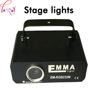 3D full color laser wiązki światła laserowego animacja światła laserowego etap światła laserowego KTV bar sprzęt oświetleniowy 3D 110-250 V 1 PC