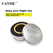 UANME German Process Alloy Wire Good Conductivity Not Insulated High-Performance Ultra Thin 0.018mm Fly