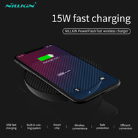 Nillkin PowerFlash Wireless Charger For iPhone XS Max XR X 7.5W 10W 15W Fast Qi Wireless Charger For Samsung Note 9 8 S9 Plus
