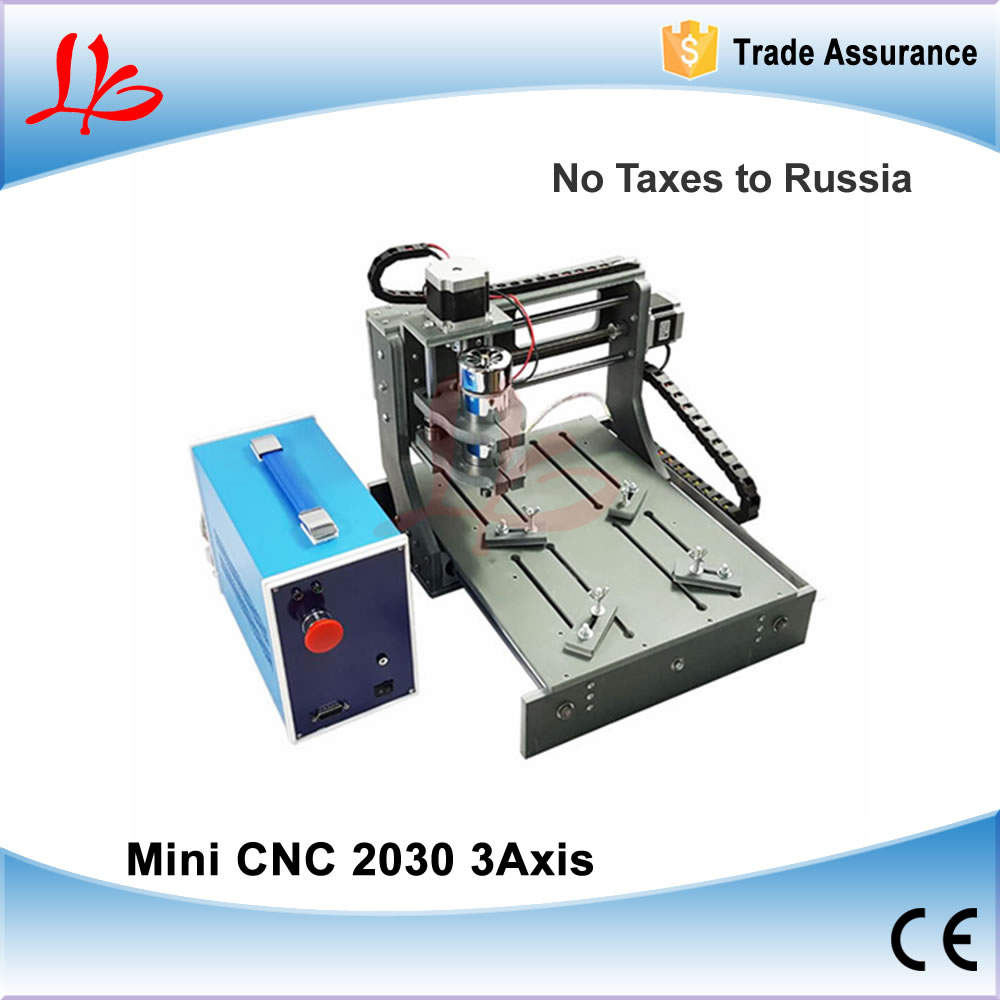 No Tax to Russia & Ukraine, CNC Wood Router CNC 2030 Mini CNC Milling Machine with Parallel & USB port 2 in 1 mini cnc router machine 2030 cnc milling machine with 4axis for pcb wood parallel port
