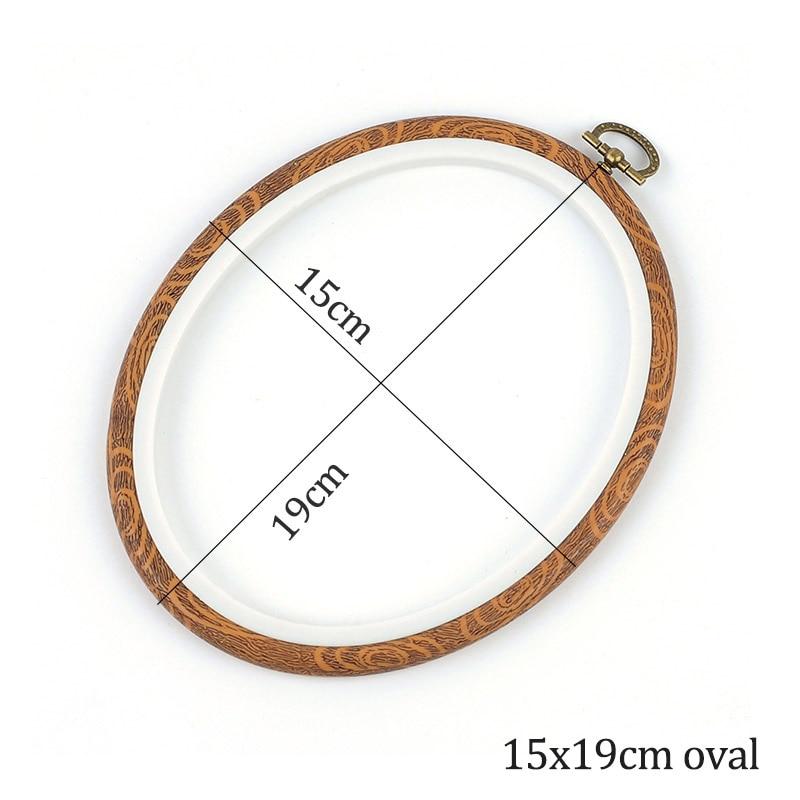 15x19cm oval