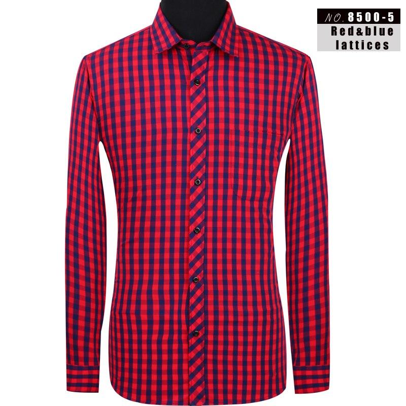 Aoliwen 2019 Men's Plaid Flannel 100%Cotton Long Sleeve Shirt Brand Men Casual Shirt High Quality Spring And Autumn Men Shirts