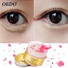 Rose Peptide Firming Eye Mask Anti-Puffiness Whitening Anti-Wrinkle Removal Dark Circles Provide Moisturizing Skin Care