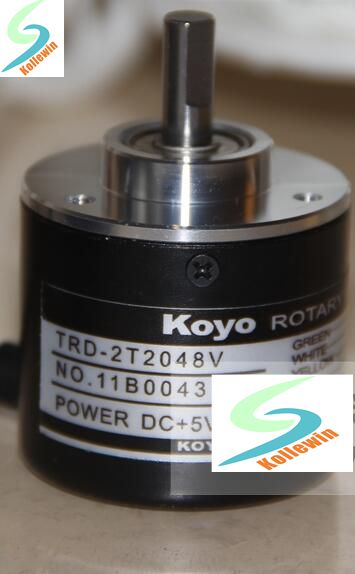 TRD-2T2048V rotary encoder new in box, free shipping. rotary encoder ose104 second hand looks like new tested working