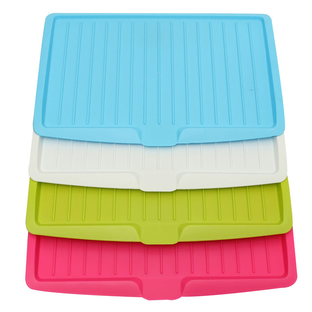 Different Quality Plastic Dish Drainer Tray Large Sink Drying Rack ...