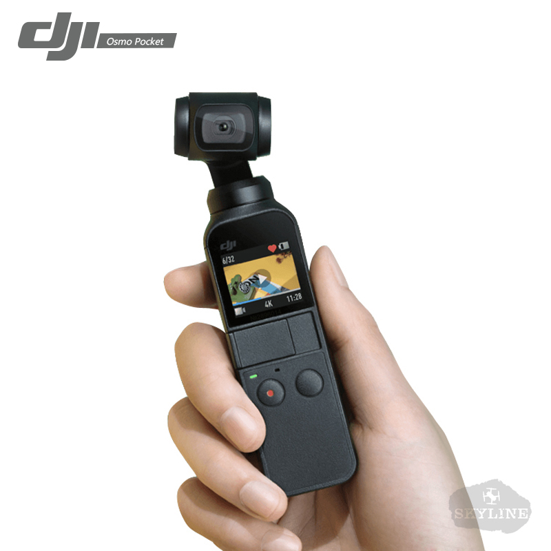 IN STOCK DJI OSMO Pocket Smallest 3-Axis Handheld Gimbal Stabilizer Camera 4K Video 12 MP 140-min Battery Life