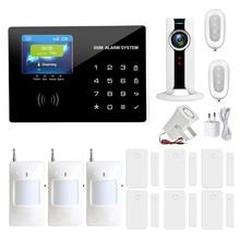 Home anti burglar security GSM Alarm System IOS/Android App control Autodial Home Security alarm system burglar alarm