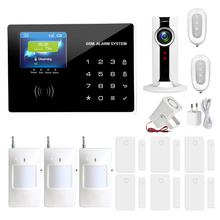 Дома anti охранной GSM сигнализация IOS/Android приложение управления Автодозвон Главная охранной сигнализации