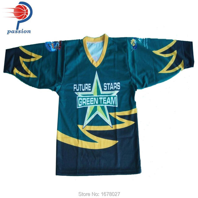 Full Sublimation Printing Green Stars Field Hockey Jerseys For Kids -in Hockey  Jerseys from Sports   Entertainment on Aliexpress.com  952019b1d