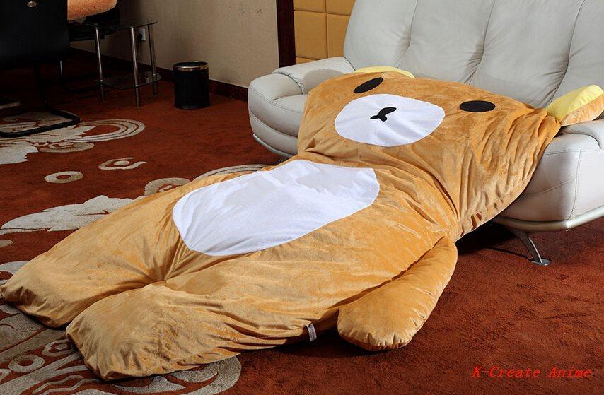 Surprising 1Pcs Anime Giant Bear Style Sofa Bed Tatami Via Ems In Interior Design Ideas Inesswwsoteloinfo