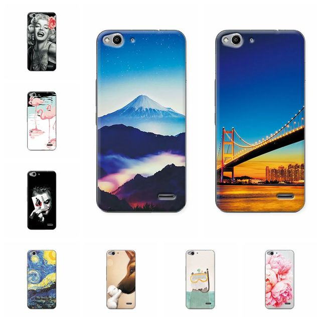 the best attitude 19ad6 fafdb US $1.46 |YOUVEI Colorful Scenery Soft TPU Phone Case Cover For Vodafone  Smart ultra 6 995N Popular Animal Case Coque For Vodafone 995N-in Fitted ...