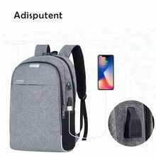 Laptop Backpack USB Charging 15.6 inch Theft Women Men School Bags