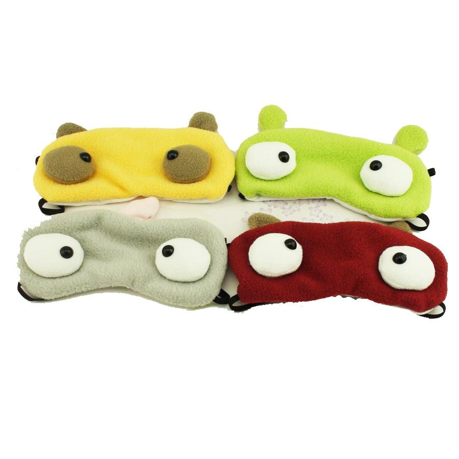 Cartoon Monster Fashion Sleeping Eye Mask Nap Shade Blindfold Sleep Eyes Cover Travel Rest Patch Blinder Health Care C120