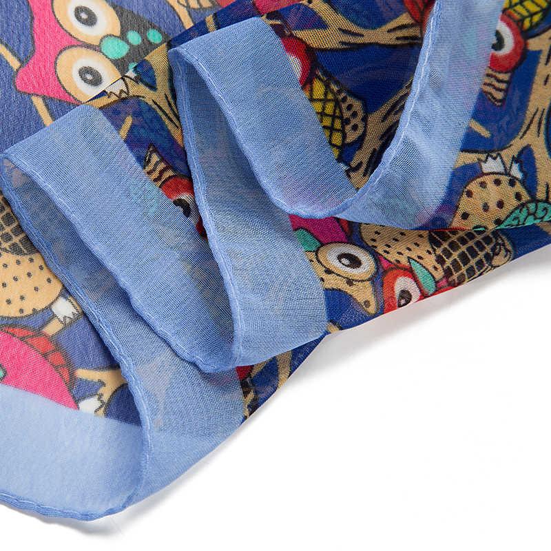 Evrfelan bufanda dulce gato casero bufanda impresa Linda figura de cartón Chi gato manta robo abrigo lindo Anime bufandas y chales