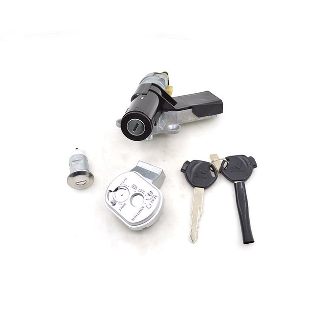 US $23 51 25% OFF|Motorcycle Ignition Switch Lock Set For Honda SPACY 100  SCR100 SCR 100 35014 GCC A10-in Motorbike Ingition from Automobiles &