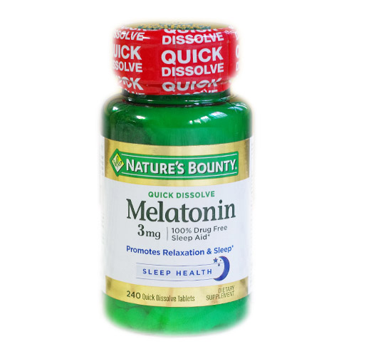 Free shipping Melatonin 3 mg 240 pcs цены