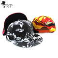 2016 New Hot Tropical Printing Snapback Flat Along The Hat Baseball Cap Hip-hop Bone Exo Peaked Gorro Sun Hats
