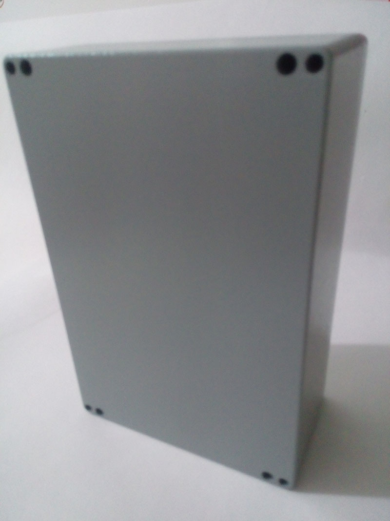 IP65 aluminium box 222 145 80mm junction box distribution box with 4pcs Screws