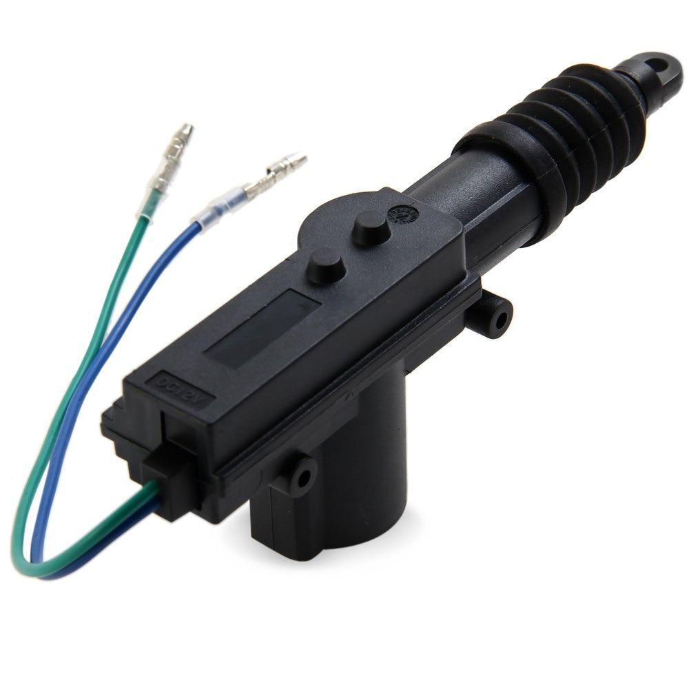 Car Central Locking 2 Wire Single Gun Type Power Door Lock Actuator Wiring Motor 12v Auto Remotecontrol Doorlocking For Rear Trunk