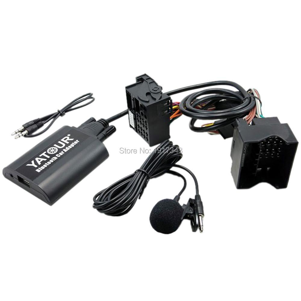 Yatour Bluetooth Car Adapter Digital Digital CD Changer Quadlock - Ավտոմեքենաների էլեկտրոնիկա - Լուսանկար 3