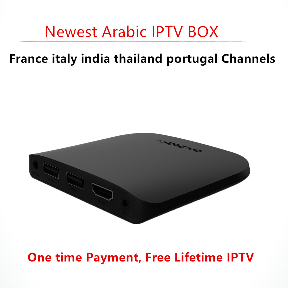 Arabic IPTV Box Lifetime free Subscription Live Stream Sports Thailand Europe Include French Spain India Italy 1000+ Channels HD free italy sky french iptv box 1300 european channels iudtv european iptv box live stream sky sports turkish sweden netherland
